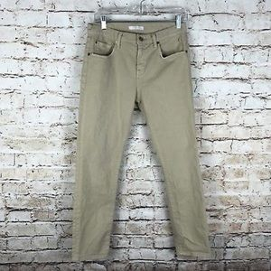7 For All Mankind distressed Khaki size 26